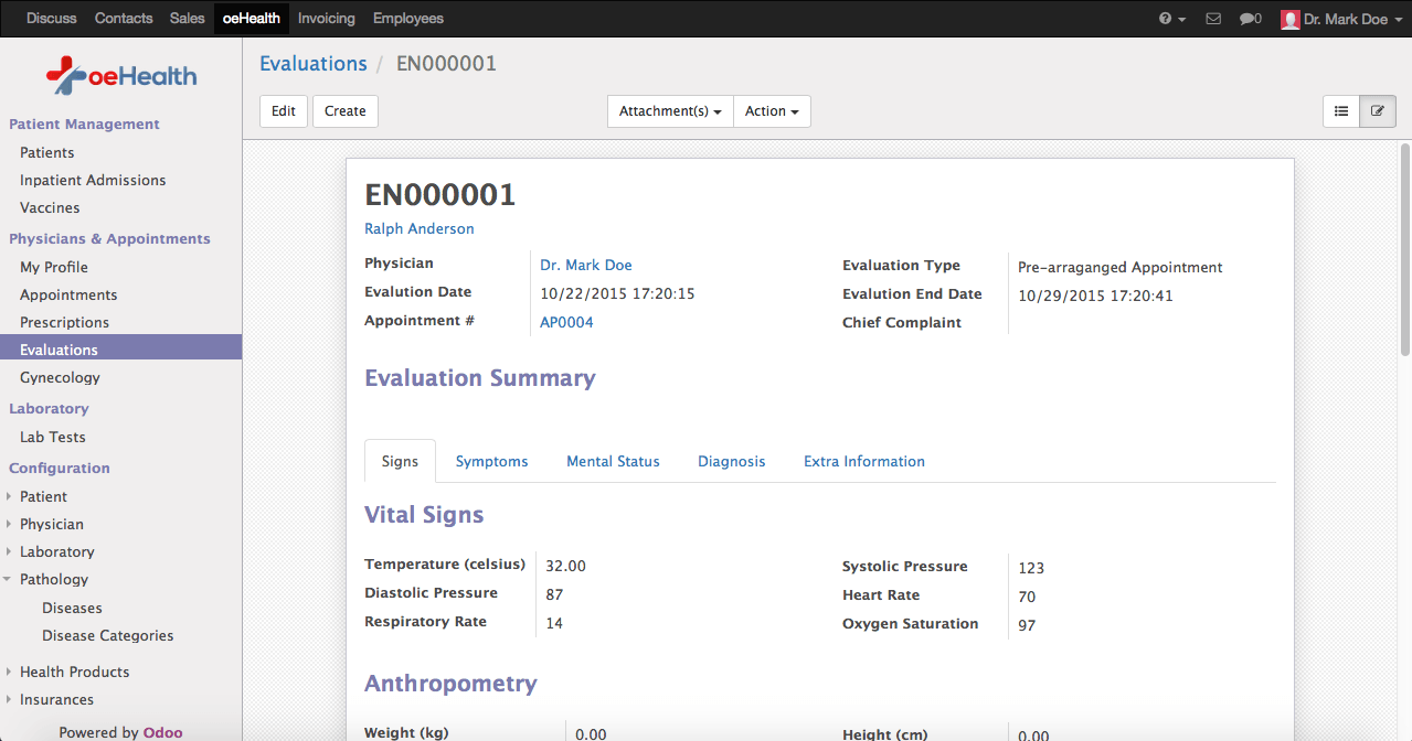 Odoo 9 Evaluation