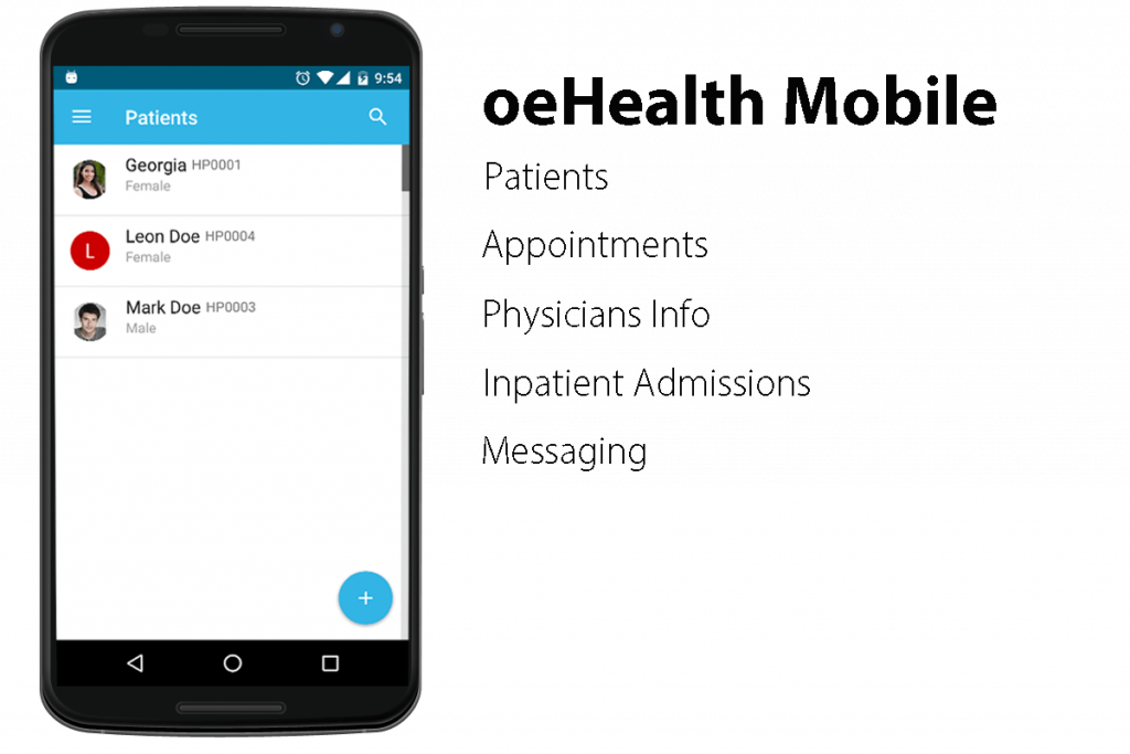 oeHealth Mobile App Coming Soon